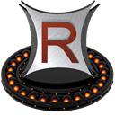 Rocketdock, Orange Black icon