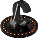Ccleaner, Orange DarkSlateGray icon