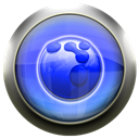 flock, Blue Black icon