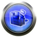Blue, Defrag CornflowerBlue icon