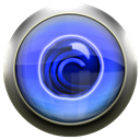 Blue, Bittorrent, Bt Black icon