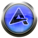 Blue, Aimp Black icon