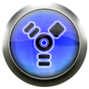 Blue, Firewire Black icon
