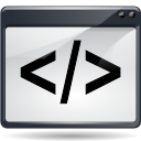 script, media DarkSlateGray icon