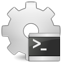 Application, script, executable Gainsboro icon