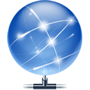 network, workgroup SteelBlue icon