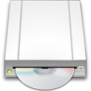 drive, optical WhiteSmoke icon