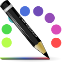 Color, line DarkSlateGray icon