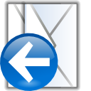 replylist, Letter, Email, Message, envelop, mail AliceBlue icon