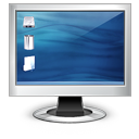 Display, Computer, monitor, Capplet, screen DarkSlateBlue icon