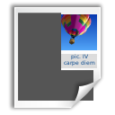 Mswrite, Application DimGray icon