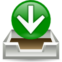 Email, envelop, mail, Letter, Get, Message Green icon