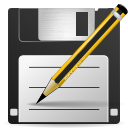 paper, save, File, save as, As, document DarkSlateGray icon