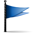 for, followup, Letter, envelop, mail, Message, Email, done, flag, stock SteelBlue icon