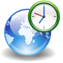 Gworldclock Black icon