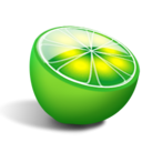 Limewire Black icon