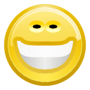 Face, Big, smile, happy, Emotion, Emoticon Khaki icon