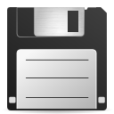 save, File, document, paper DarkSlateGray icon