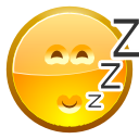 Asleep, Face SandyBrown icon