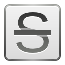 Strikethrough, document, File, Format, Text Gainsboro icon