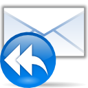 envelop, Letter, Message, reply, Response, All, Email, mail DodgerBlue icon