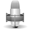 stock, Microphone, Gnome, mic Black icon