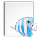 Bluefish, project, Gnome, Application WhiteSmoke icon