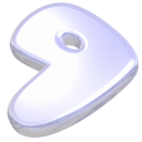 Gentoo, start, here Lavender icon