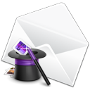 envelop, Email, Druid, mail, Letter, stock, Message WhiteSmoke icon