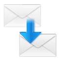 Message, Email, stock, Letter, envelop, mail, Move WhiteSmoke icon