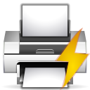 preview, File, document, Print, paper, printer WhiteSmoke icon