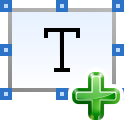 Text, document, File, insert AliceBlue icon