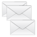 merge, Message, envelop, Letter, Email, mail, stock WhiteSmoke icon