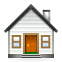 Home, Building, house, homepage DarkSlateGray icon