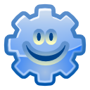 male, Face, smile, member, profile, Emoticon, gearhead, user, Man, happy, Account, person, people, Human, Emotion CornflowerBlue icon