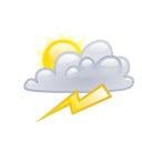 Storm, weather, climate LightGray icon