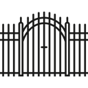 Protection, Access, Frontier, Barrier, Fences Black icon