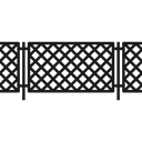 Frontier, Fences, Access, Protection, Barrier Black icon