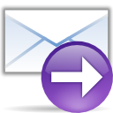 mail, yes, Arrow, ok, Email, envelop, next, Message, Forward, right, Letter, correct MediumPurple icon