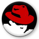 start, here, Redhat Black icon