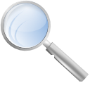 Find, search, seek RoyalBlue icon