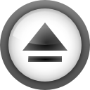 media, Eject DimGray icon