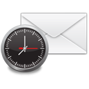 Email, notification, envelop, mail, Letter, Message WhiteSmoke icon