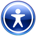 Setting, config, Configure, option, configuration, Desktop, preference, Accessibility MidnightBlue icon