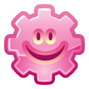 gearhead, Emoticon, Account, smile, user, woman, people, Face, Female, Human, person, profile, member, happy, Emotion LightPink icon