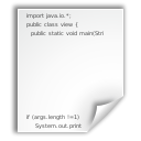 File, Text, Java, document WhiteSmoke icon