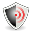 Wifi, wireless, Encrypted, network Black icon
