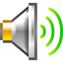 newschool, Audio, volume, high DimGray icon