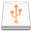 drive, Removable, media Snow icon