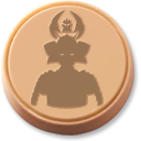 token, samurai BurlyWood icon
